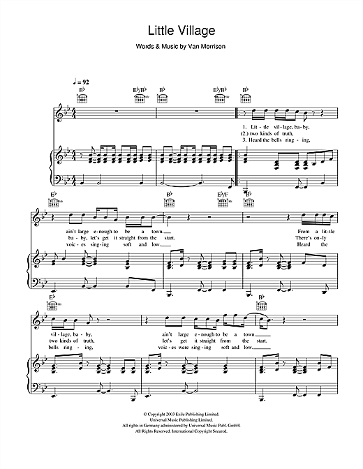 Little Village Sheet Music