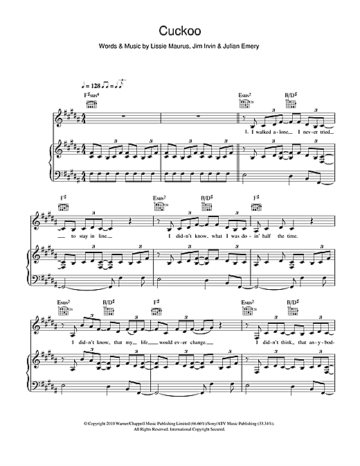 Cuckoo Sheet Music