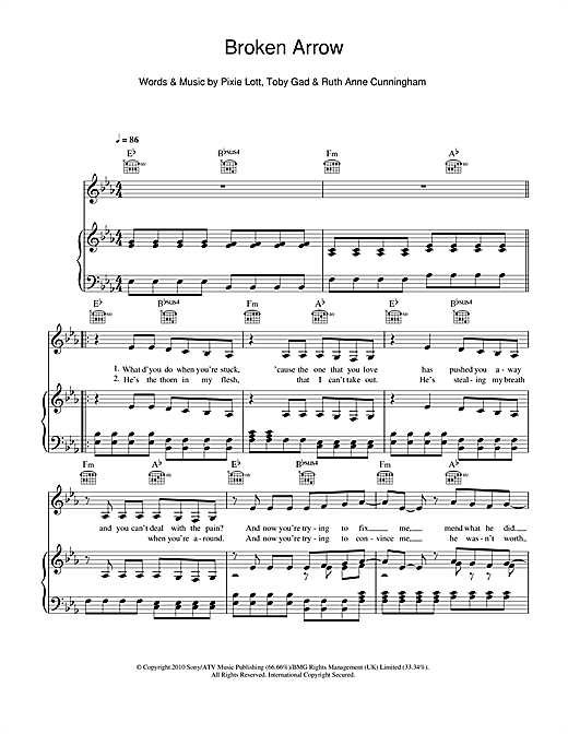 Broken Arrow Sheet Music
