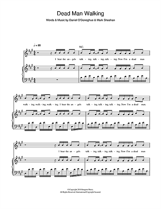 Dead Man Walking Sheet Music