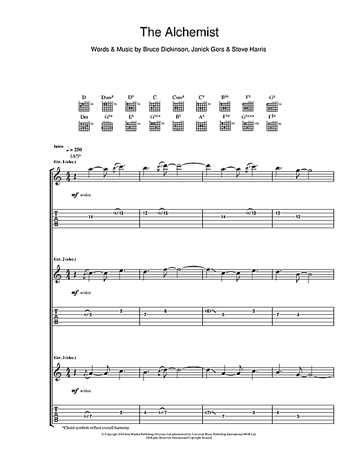 The Alchemist Sheet Music