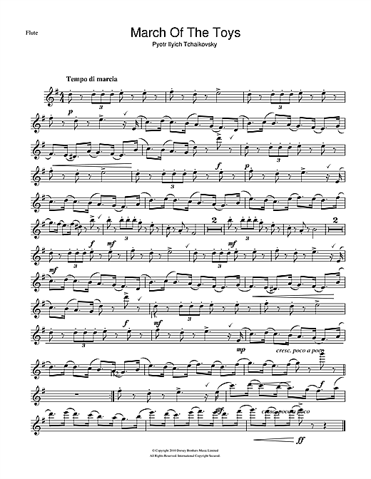 March Of The Toys (from The Nutcracker Suite) Sheet Music