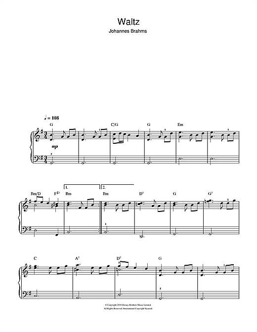 Waltz (Beginner Piano)