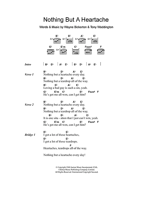 everythig and nothing less chords pdf