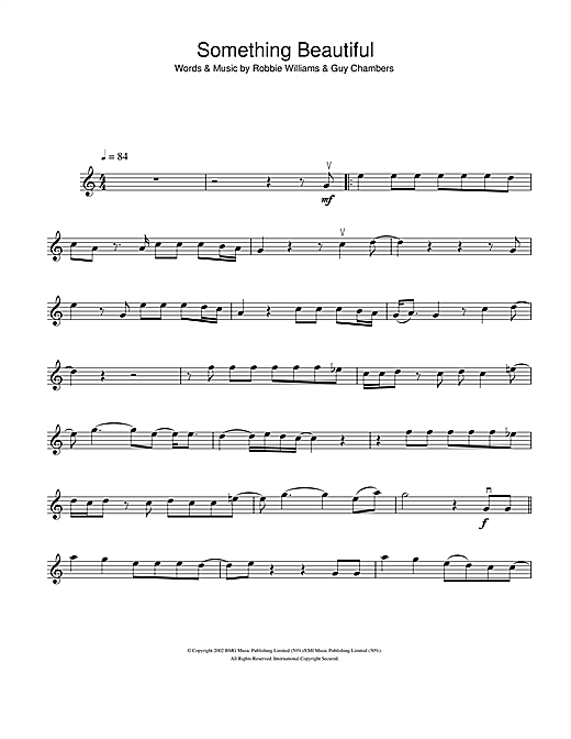 Something Beautiful Sheet Music