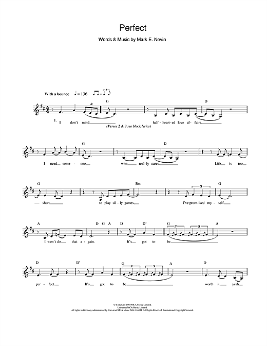 Perfect Print Sheet Music Now