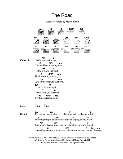 The Road Sheet Music