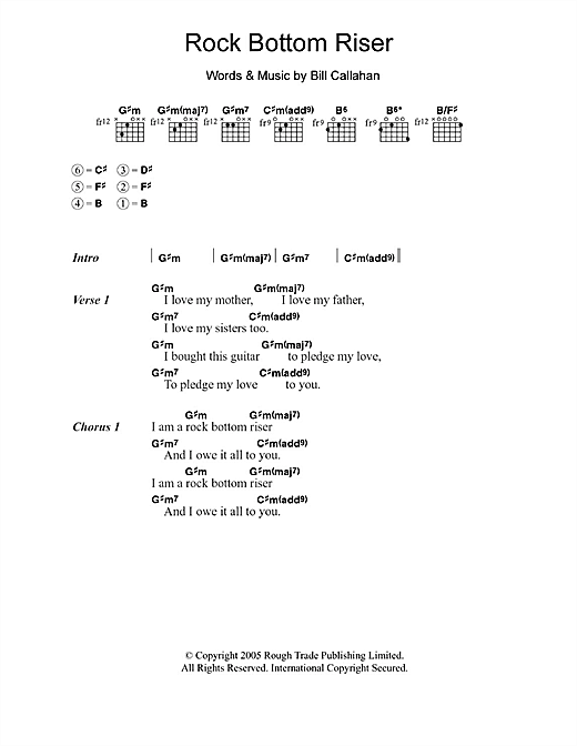 Rock Bottom Riser Sheet Music