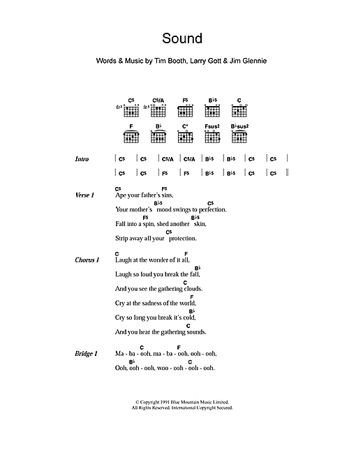 Sound Sheet Music