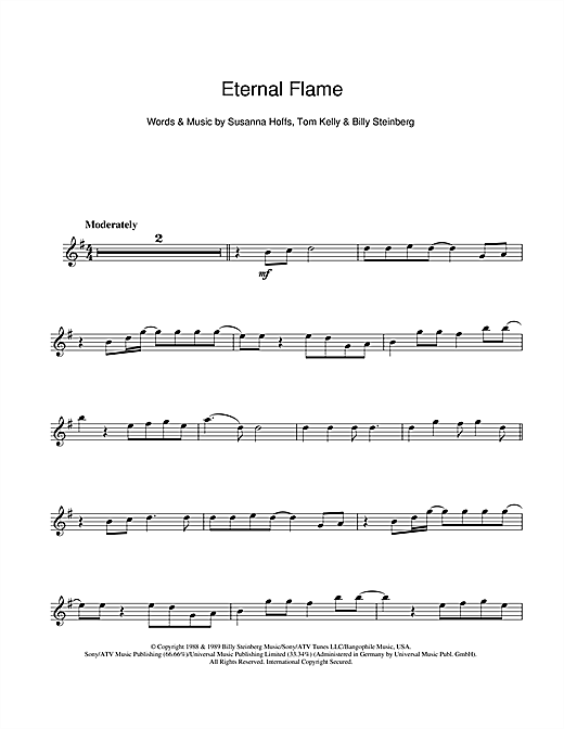 Eternal Flame (Flute Solo)