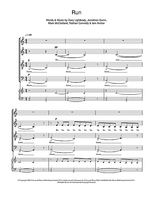 Run (SATB Choir)