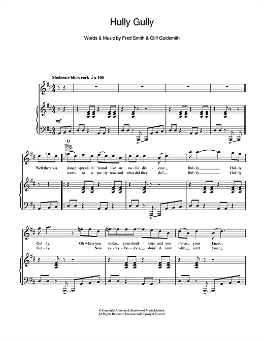 Hully Gully Sheet Music