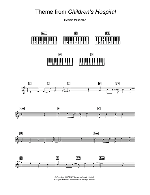 Theme from Children's Hospital Sheet Music