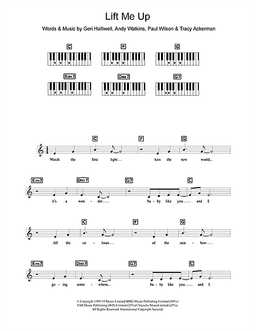 Lift Me Up Sheet Music