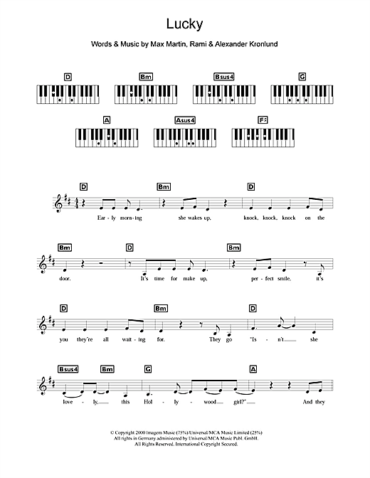 Lucky Sheet Music
