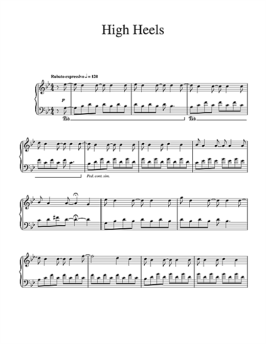 High Heels Sheet Music
