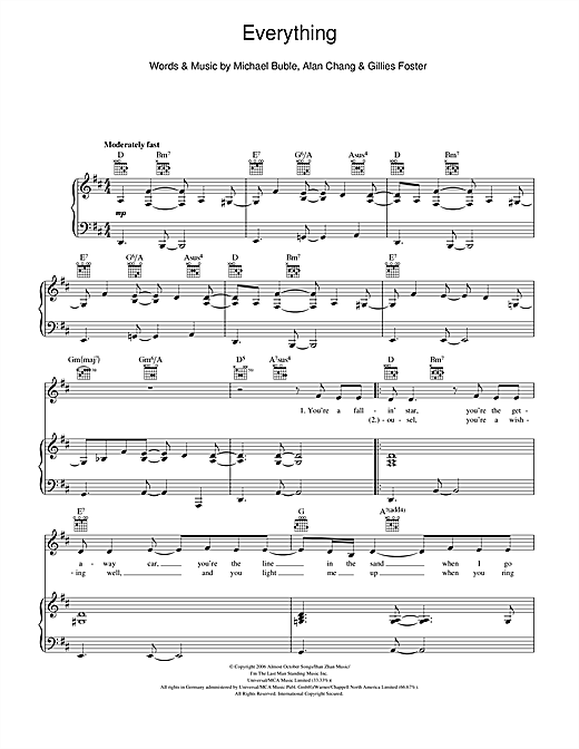 Everything Sheet Music