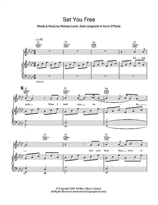 Set You Free Sheet Music