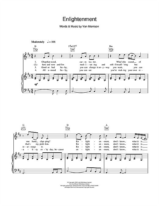 Enlightenment Sheet Music