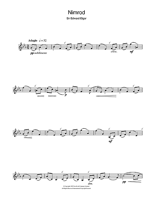 Nimrod (from Enigma Variations Op.36) Sheet Music