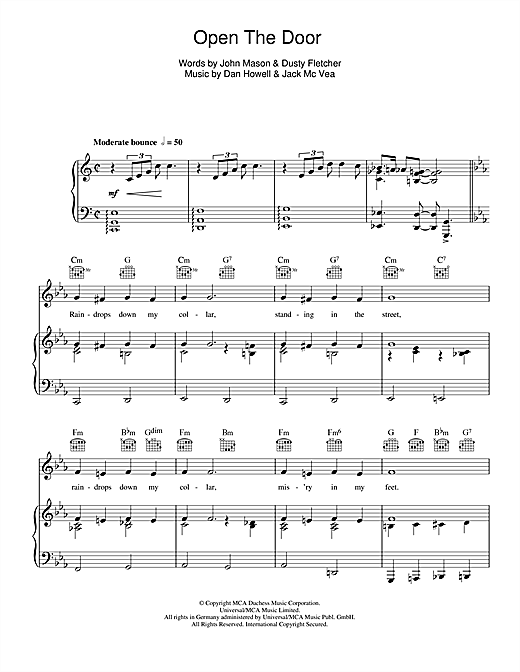 Open The Door, Richard! Sheet Music