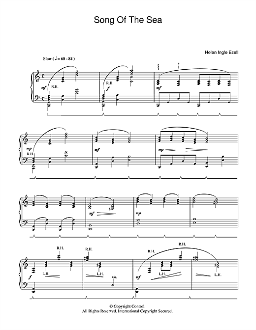 Song Of The Sea Sheet Music