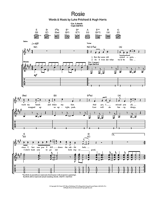 Rosie Sheet Music