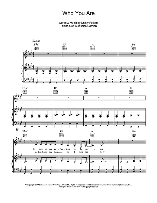 Who You Are Sheet Music