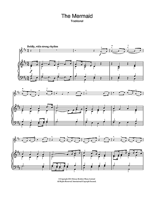 The Mermaid Sheet Music