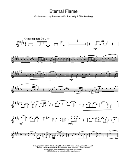 Eternal Flame Sheet Music