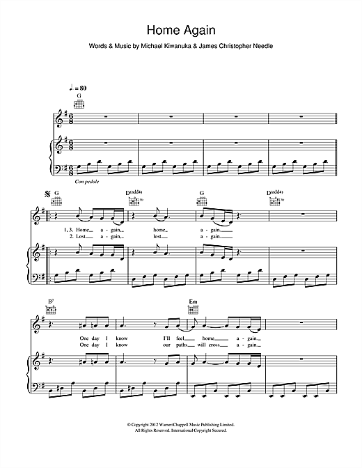 page one of Home AgainASALTTEXT