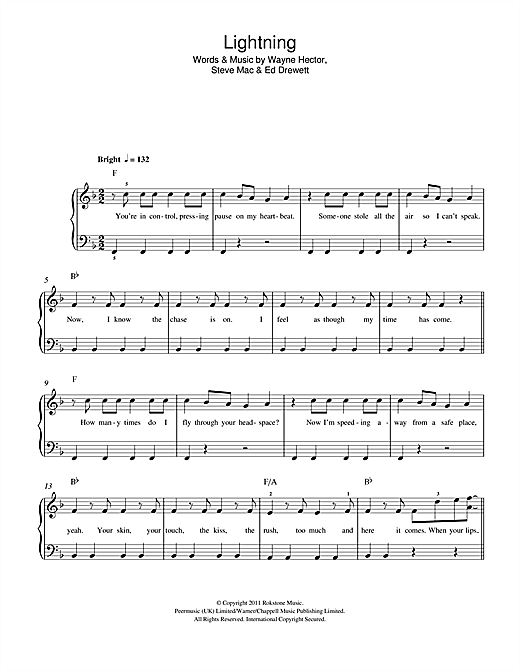 Lightning Sheet Music