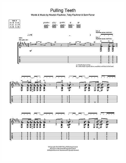 Pulling Teeth Sheet Music