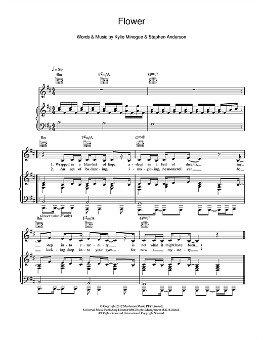 Flower Sheet Music