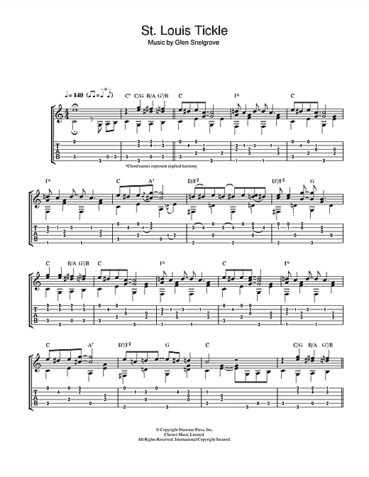 St. Louis Tickle Sheet Music