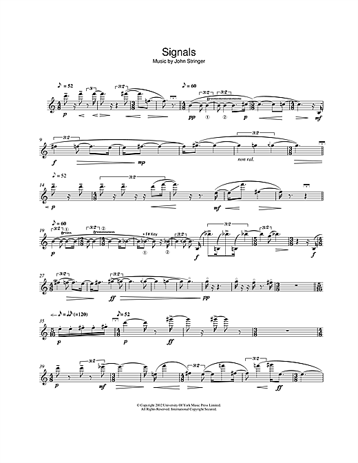 Signals Sheet Music