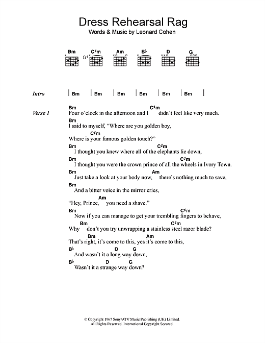 Dress Rehearsal Rag Sheet Music