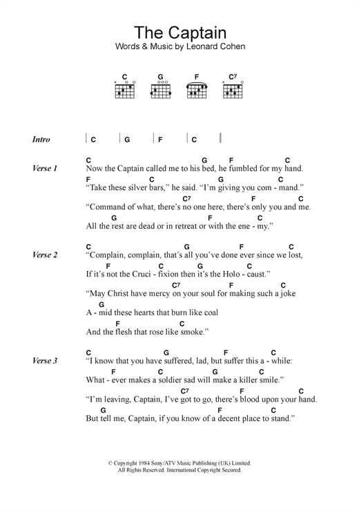 page one of The CaptainASALTTEXT