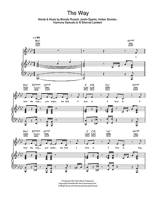The Way Sheet Music