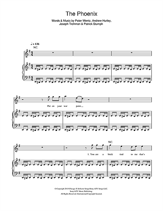 The Phoenix Sheet Music