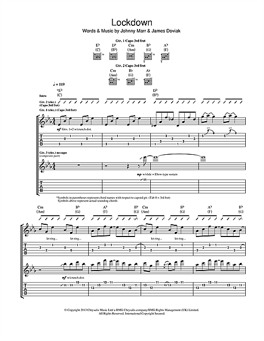 Lockdown Sheet Music