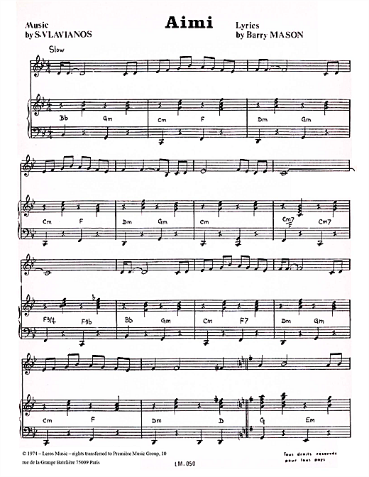 Aimi Sheet Music