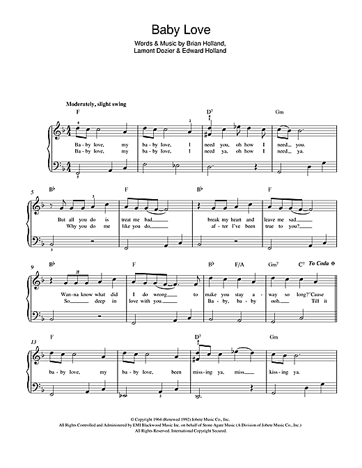 page one of Baby LoveASALTTEXT