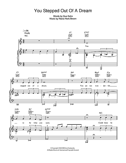 singin in the rain sheet music free pdf