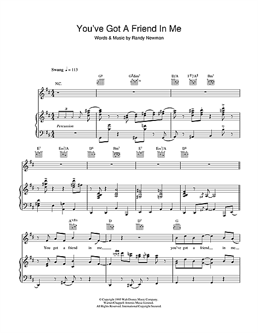 Youve Got A Friend In Me Piano Sheet Music By Michael Buble Piano