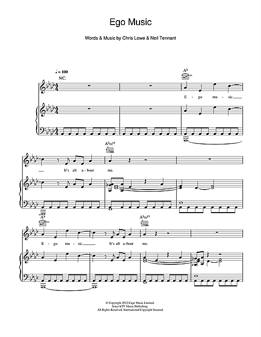 page one of Ego MusicASALTTEXT
