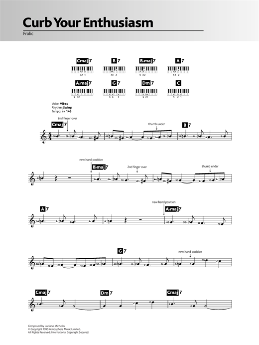 Frolic (theme from Curb Your Enthusiasm) Sheet Music
