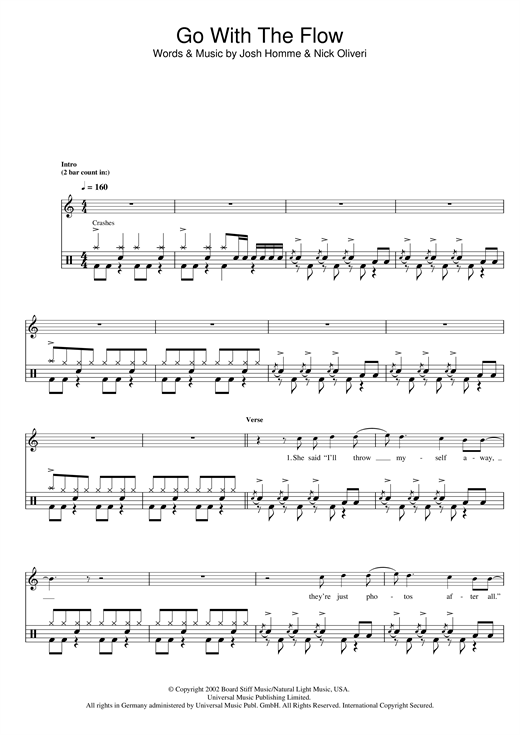 Go With The Flow Sheet Music