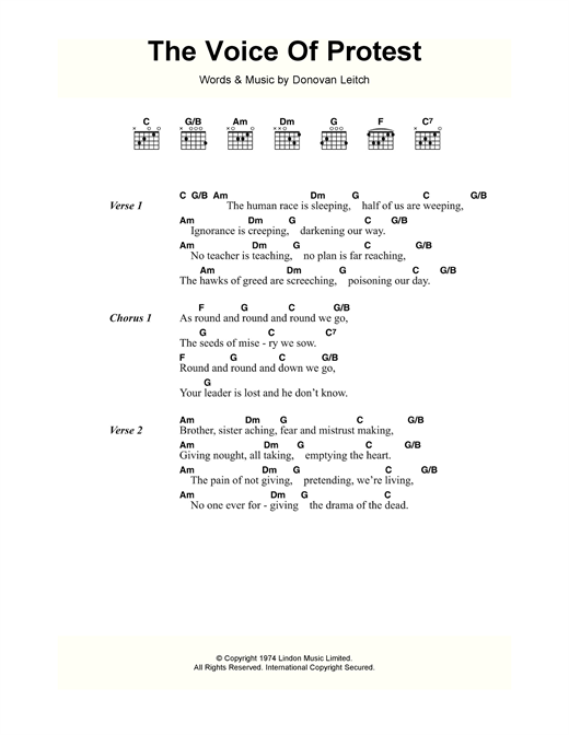 page one of The Voice Of ProtestASALTTEXT