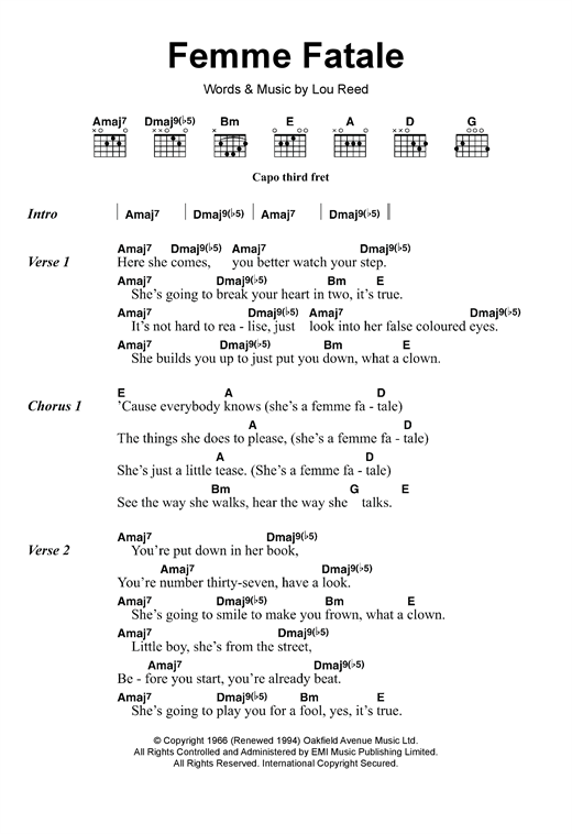 page one of Femme FataleASALTTEXT